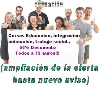 descuentos cursos educacion integracion
