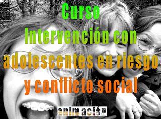 curso adolescentes en riesgo y conflcito social