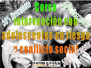 curso adolescentes en riesgo y conflicto social