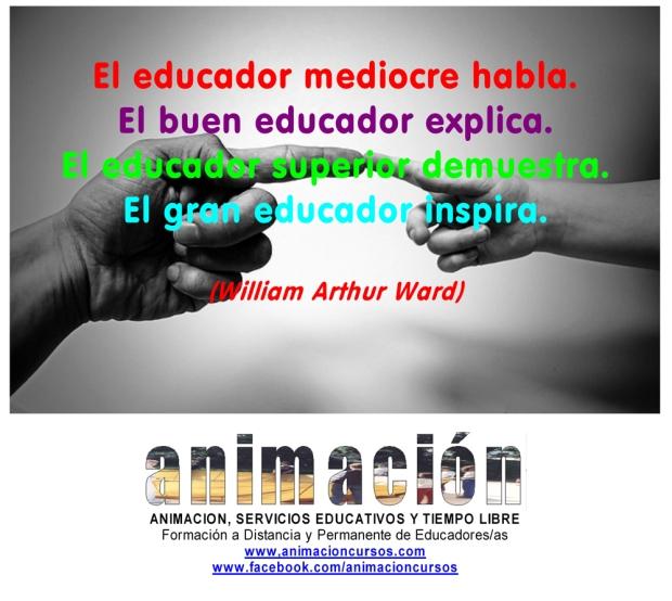 El educador mediocre