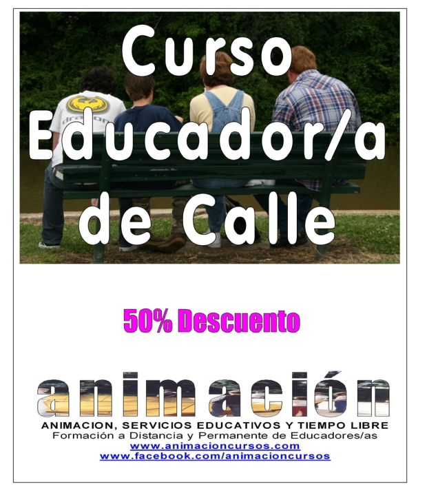 Curso Educador de Calle