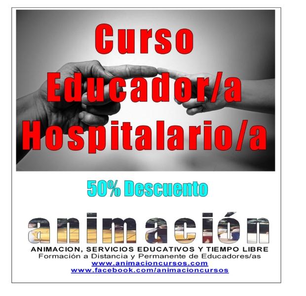 Curso Educador Hospitalario. Ofertas y Descuentos