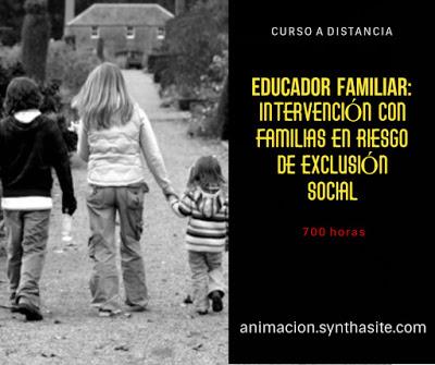 imagen cursos familias en riesgo de exclusion social